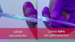 Cathéter intermittent sans contact VaPro™ - Protection 100% No Touch*    *sans contact   French-CA