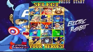 Electric Rabbit - Captain America Marvel vs Capcom theme Remix