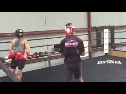 WBO Champ Luke Jackson of Austalia Sparring Gets Ready For Nov 19 Fight - esnews