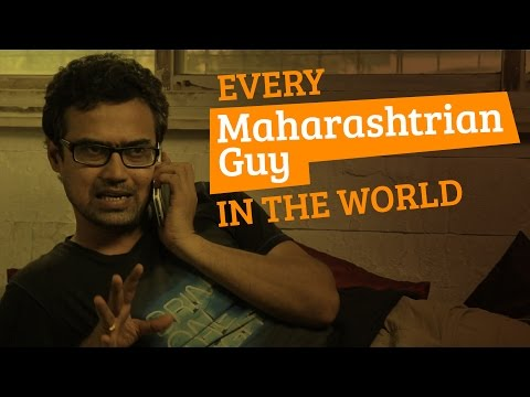 Every Maharashtrian Guy In The World