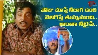 అంతా నీ టైపే.. పోజు చూస్తే నీలా ఉంది వెలిగిస్తే తుస్సు..! | Telugu Movie Comedy Scenes | NavvulaTV