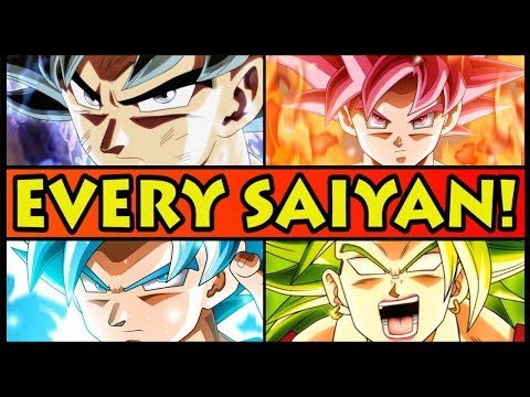 Every Saiyan Transformation EXPLAINED! (Dragon Ball Super All Forms Explained + Ultra Instinct)