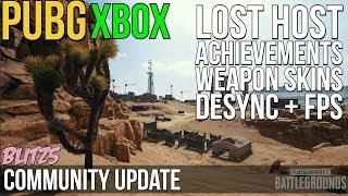 PUBG Xbox: Lost Connection to Host, Achievements & More!