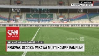 Download Video Wajah Stadion Wibawa Mukti Jelang Asian Games MP3 3GP MP4