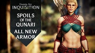 Dragon Age: Inquisition - Spoils of the Qunari DLC - All New Armor
