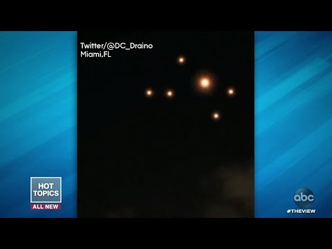 Mysterious Lights Over Houston & Miami | The View