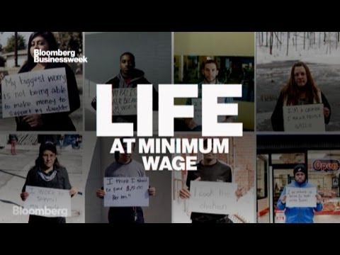 Video Portraits: Life at Minimum Wage