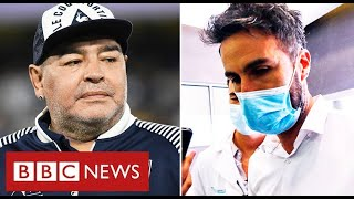 Maradona manslaughter investigation: police raid doctor's clinic and home  - BBC News
