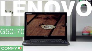 lenovo G50-70 (59-424950) - бюджетный ноутбук с дискретной видеокартой - Видеодемонстрация от Comfy