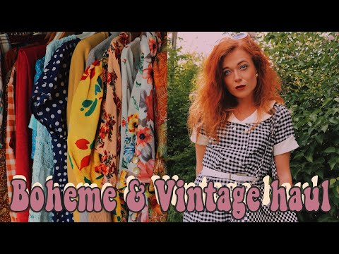 Boheme & Vintage Clothing Haul