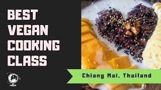 Best Vegetarian Thai Cooking Class in Chiang Mai, Thailand