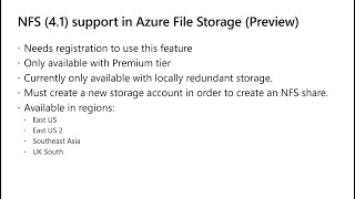 Azure Storage Updates (09/2020)