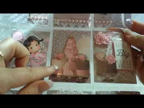 Magnolia Tilda Pocket Letters and Altered House for MMM 2015