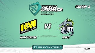 Natus Vincere vs Spirit, Super Major, game 1 [Lex, 4ce]