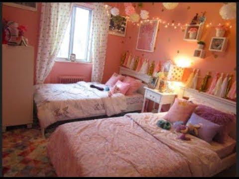 SHARING ROOM // Girl's Room Tour | Abiandbaby