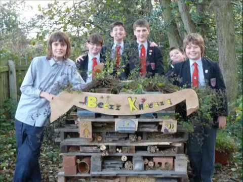 Langley School Bug Hotel 2012