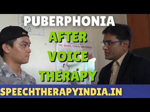 After Puberphonia Voice Therapy By SLP Sanjay For A Guy From Singapore