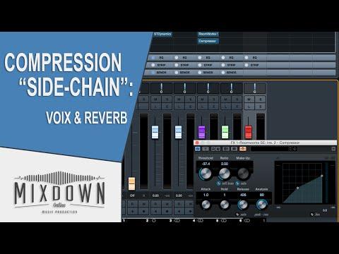 CUBASE 8.5 - Comment rapprocher la voix avec de la compression