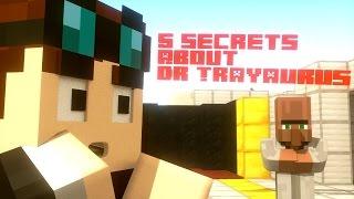 DanTDM - 5 SECRETS ABOUT DR TRAYAURUS - Minecraft Animation