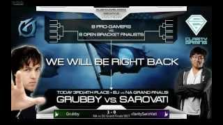 Starcraft 2 Alienware Arena Pro-Am Tournament Grand Final - Grubby vs c.Sarovati  BO7 Match 1
