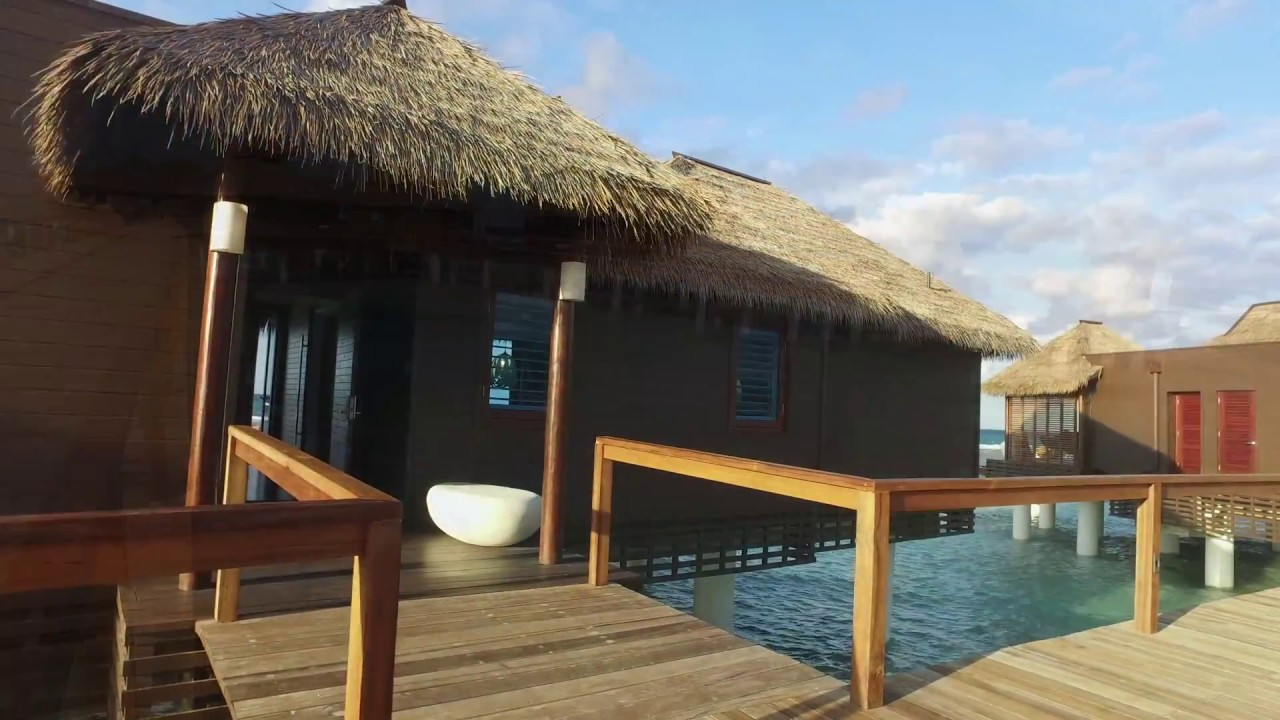 d0881fa39732 Overwater Bungalows at Sandals Royal Caribbean in Jamaica - YouTube