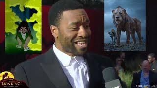 Chiwetel Ejiofor Scar interview Lion King World Premiere HD