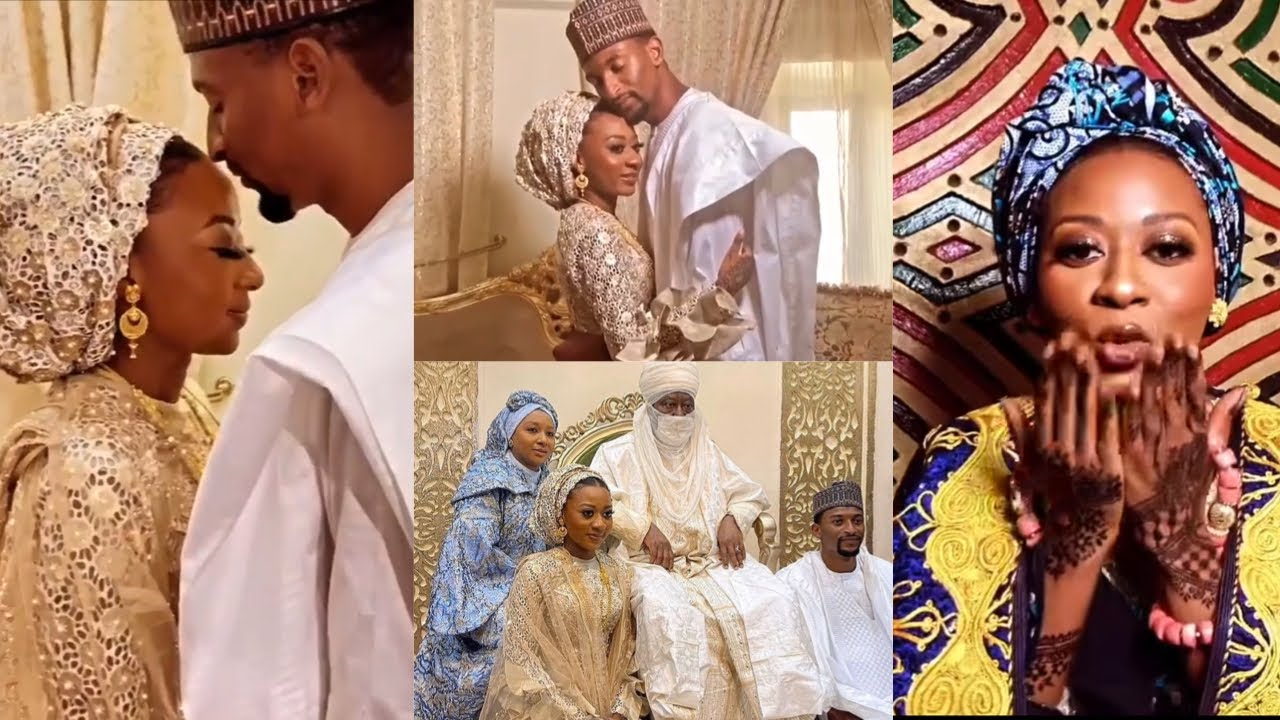 Download EMOTIONAL MOMENTS FROM THE PRINCESS OF KANO'S LUXURIOUS WEDDING#aiza21#hausaweddings#nigerianwedding