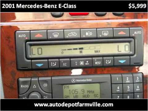 2001 Mercedes Benz E Class Used Cars Farmville Nc Youtube