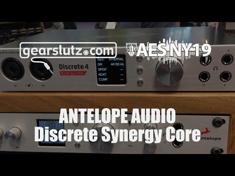 Antelope Audio Discrete Synergy Core Range - Gearslutz @ AES 2019