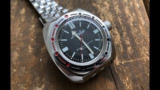 The Vostok Amphibia Wristwatch: The Full Nick Shabazz Review