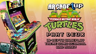 Teenage Mutant Ninja Turtles | Part 2 | Arcade1Up | Gameplay, Theme Song Scandal, and More!