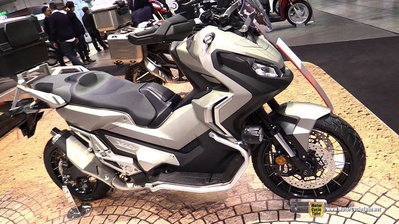 2019 honda x adv 750 travel edition walkaround 2018 eicma milan youtube. Black Bedroom Furniture Sets. Home Design Ideas