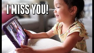 The twins are starting to miss one another -  ItsJudysLife Vlogs