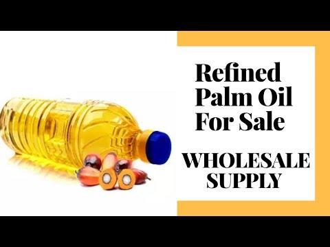 Refined palm oil price per ton
