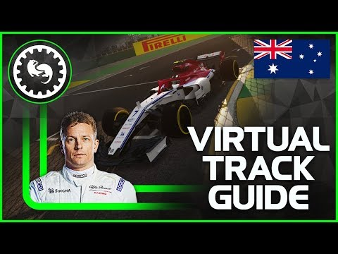 2019 F1 Australian Grand Prix Virtual Track Guide | Albert Park, Melbourne