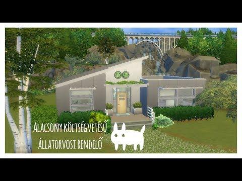 The Sims 4: Alacsony költségvetésű állatorvosi rendelő | Alapjáték & Cats and Dogs
