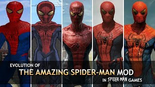 "Evolution of ""The Amazing Spider-Man"" Mod in Spider-Man Games (2002-2014)"