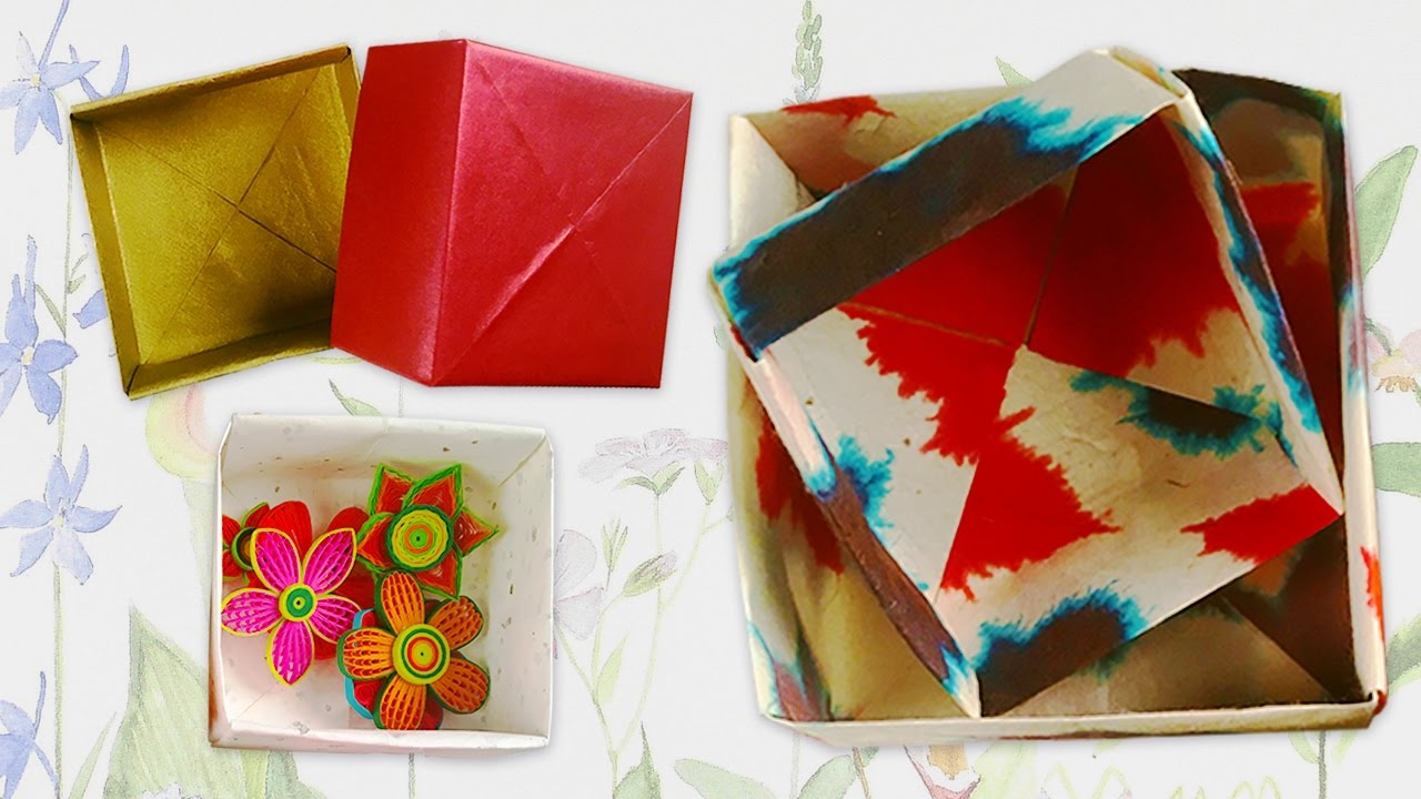 Origami Box Diy Valentine S Day Gift Ideas For Him Her Youtube