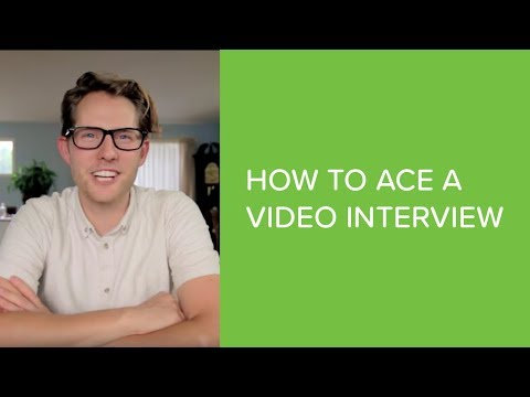 How to do a Video Interview | Intro to HireVue