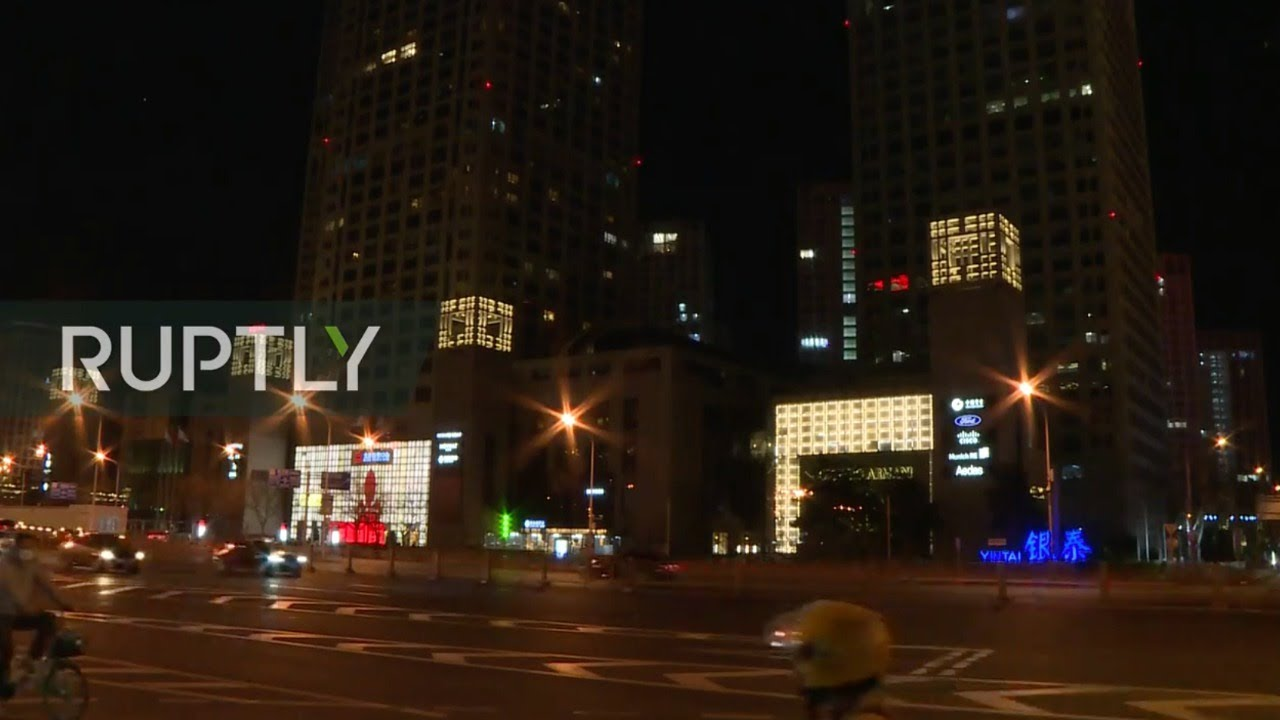 LIVE: China's landmarks go dark to mark Earth Hour