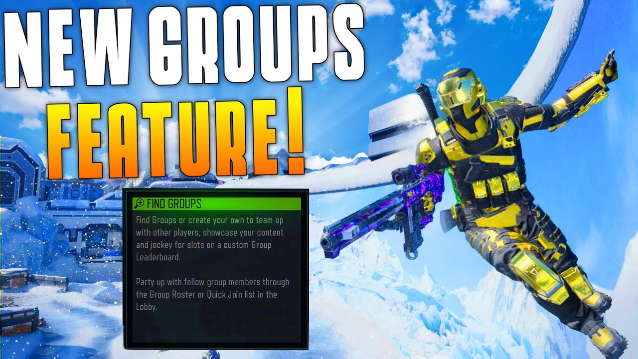 New Groups Feature! (Black Ops 3 Funny Moments & Highlights) Axe, Level  200, New Group! - MatMicMar