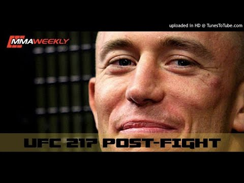 Georges St-Pierre Raises Doubt on Defending the MW Belt: UFC 217 Post-Fight Media Call  (FULL)