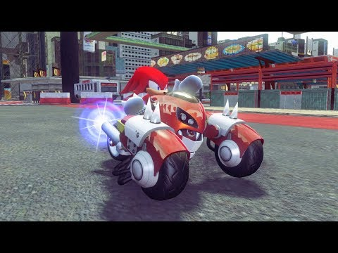 Sonic & All-Stars Racing Transformed - Knuckles Gameplay HD