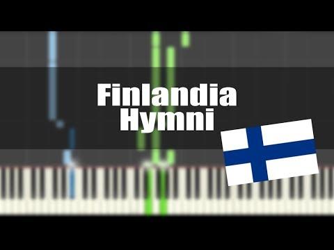 Finlandia Hymni - PIANO TUTORIAL
