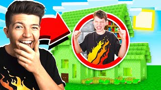 5 WAYS TO TROLL YOUR LITTLE BROTHER'S MINECRAFT HOUSE!