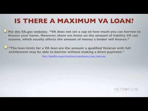 What Is The Maximum Va Loan Amount