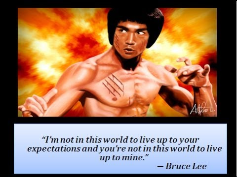 Bruce Lee Best Quotes Colection Do Not Pray For An Easy Life