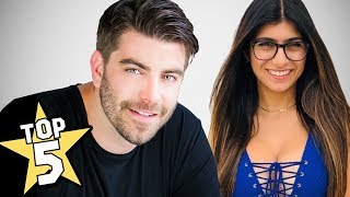 One of Michael McCrudden's most viewed videos: Top 5 Mia Khalifa Strange Facts