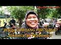 Warga JOMBANG Pilih Jokowi Atau Prabowo ?