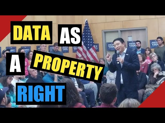 Andrew Yangs Answer to  Tough Question on Metadata